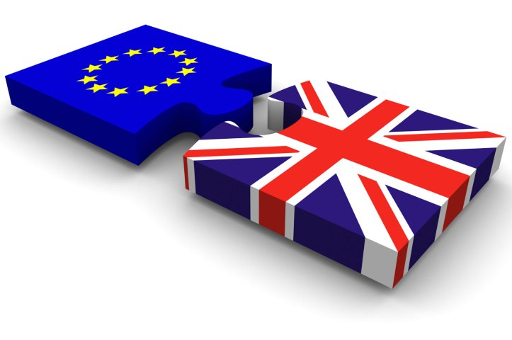 UK-EU puzzle piece