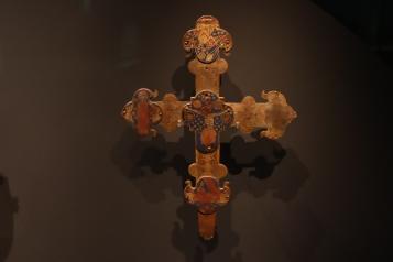 Cross depicting crucifixation of Jesus